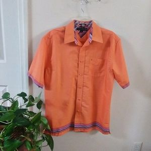 Tommy Hilfiger Creamy Orange Shirt